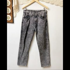 Vtg Wrangler Acid Wash High Rise Jeans